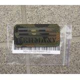 レーザーパッチ製ドイツ連邦IRフラッグパッチ ドイツ連邦軍フレクター迷彩(フレック迷彩)X黒 新品