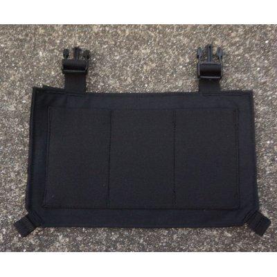 画像1:  ベロシティシステムズSwiptエラスティックトリプルマガジンポーチプラカード黒 新品