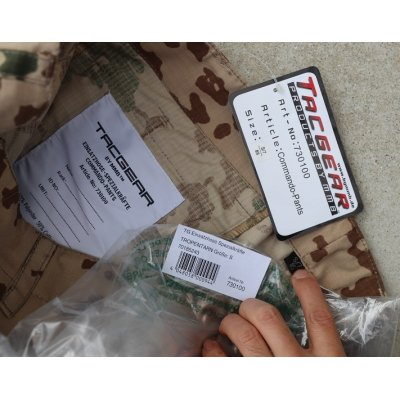 画像3: TACGEAR製コマンドパンツ ドイツ連邦軍デザートフレクター迷彩SMALL新品