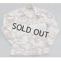 韓国軍ザイトン部隊デザート迷彩ジャケット歩兵科軍曹パッチ付き