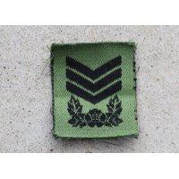 韓国軍 韓国陸軍 帽子用サブデュード上士(曹長)階級章