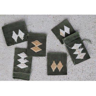 画像2: 韓国軍 韓国陸軍ベトナム戦争型 尉官階級章各種