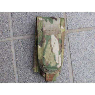 画像1: 受注生産◆当店オリジナル品パラクレイト型ラージフラッシュバンポーチ新品