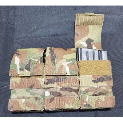 画像3: 1点在庫有◆当店オリジナル品ローカルメイド品型SR-25トリプルマガジンポーチ新品