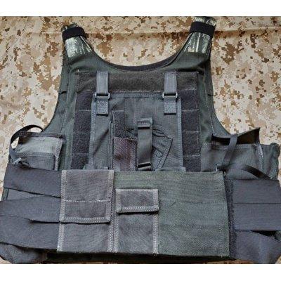 画像3: 受注生産◆当店オリジナル品NATO Special Force・AWSモジュラーチェストリグ用ホルスターパネル新品