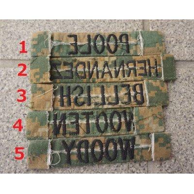 画像2: 米軍 米海兵隊ウッドランドMARPAT迷彩ネームテープ