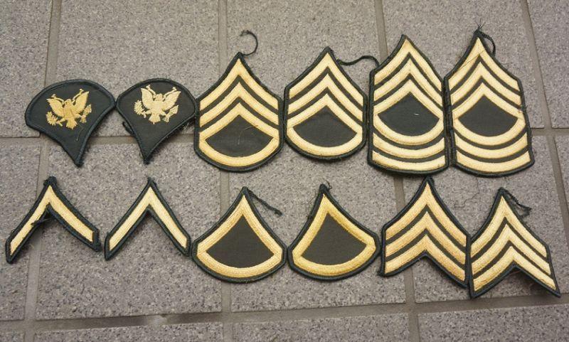 階級 米 章 軍